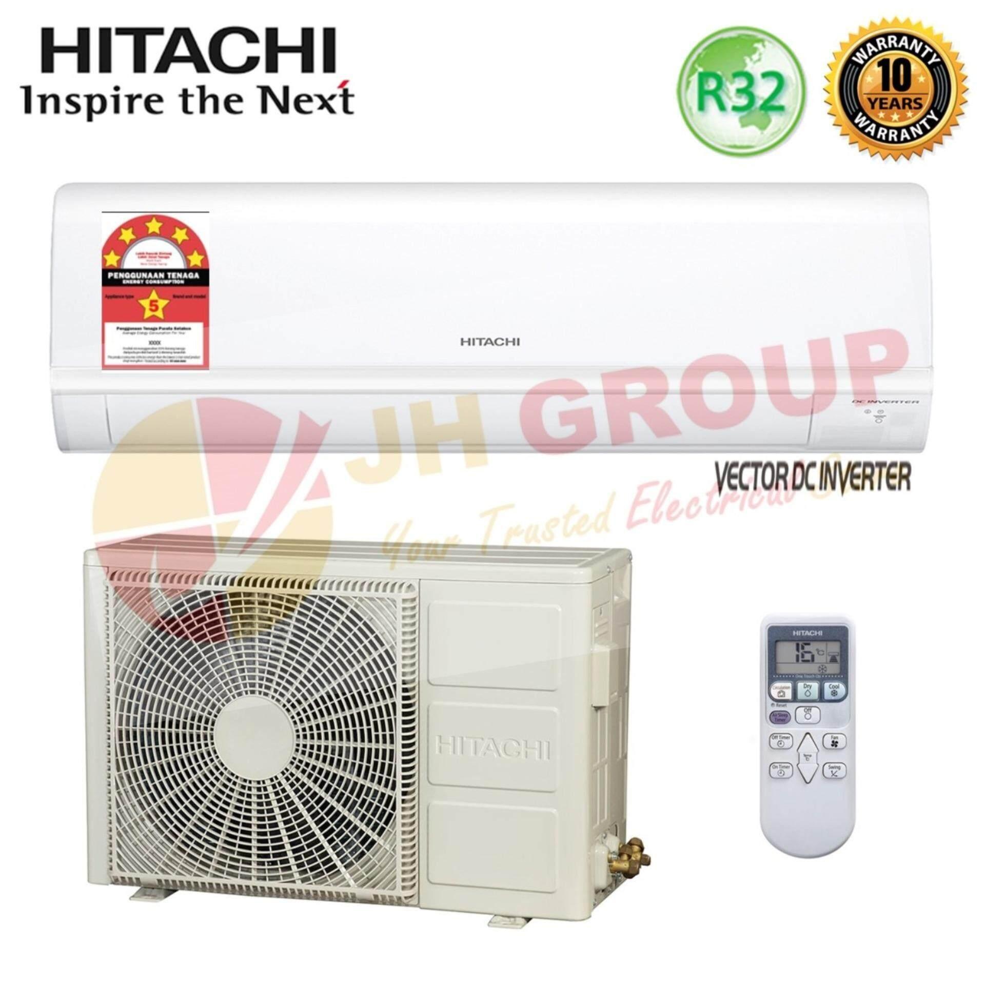 Features Hitachi Ras F10cj 1 0hp Standard Air Conditioner Htc
