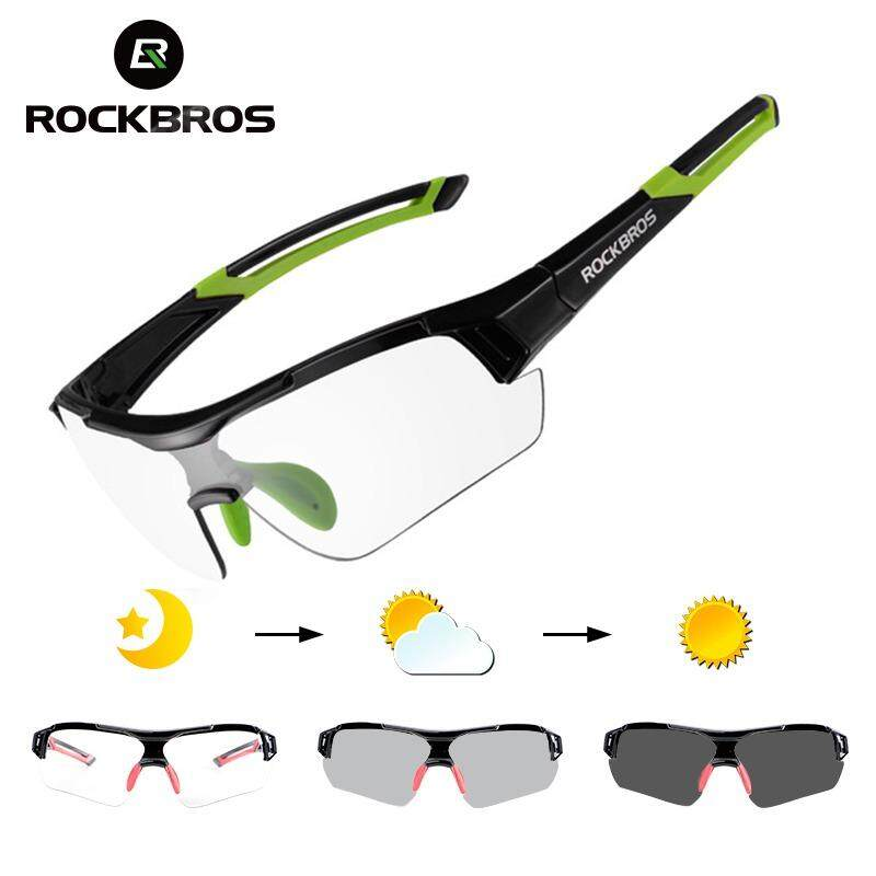 4ab1b73c6f ROCKBROS Photochromic Cycling Sunglasses With Invisible Myopia Frame Bike Glasses  Eyewear UV400 Polarized MTB Road Bicycle