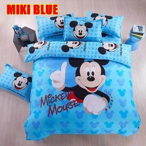 CARTOON BED SHEET MIKI 10 DESIGN (FITTED) King Size Bed
