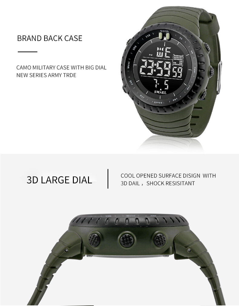 7.mens watches digital