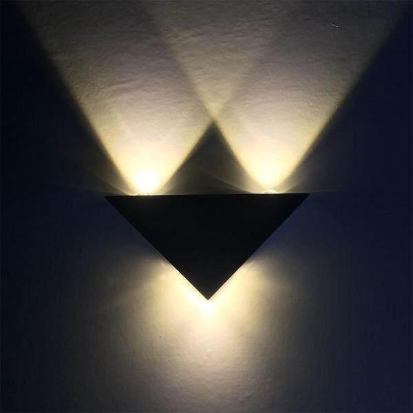 Đèn LED Treo Tường Hình Tam Giác Bằng Nhôm Hiện Đại Đèn Chiếu Điểm Trong Nhà Cầu Thang Hành Lang Phòng Ngủ Trang Trí