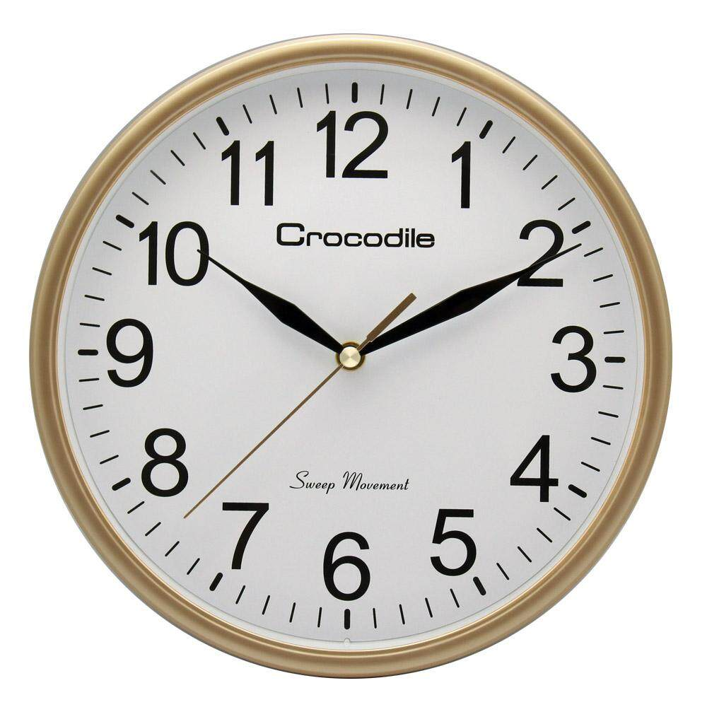 Crocodile Basic Model No Tick Tock Noise Large Dial Surface
