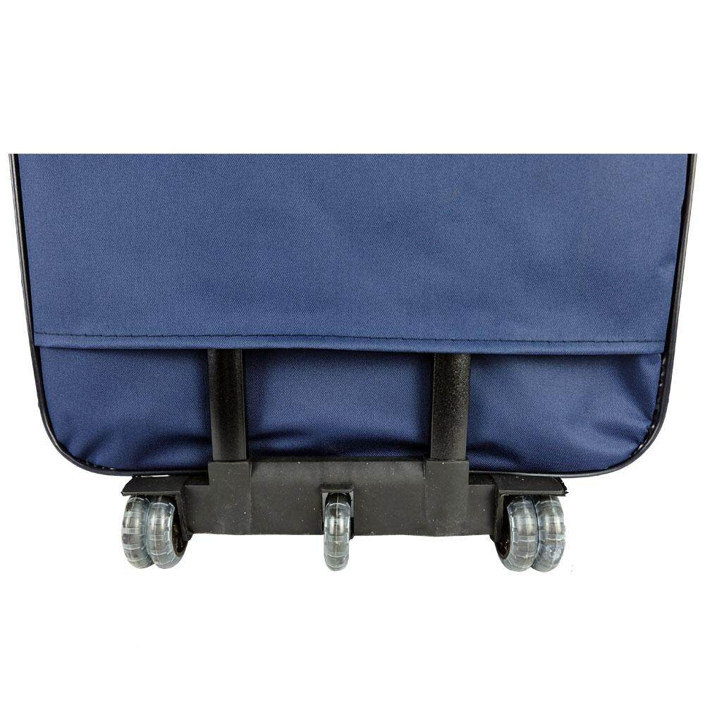 W.Polo BE9819 28inch 2W EVA Softcase Luggage with Middle Roller - Blue/Navy