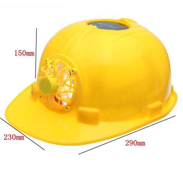 Mùa hè ngoài trời năng lượng mặt trời Quạt làm mát Chiều cao an toàn Builder làm việc bảo vệ Mũ bảo hiểm Mũ cứng/mũ-