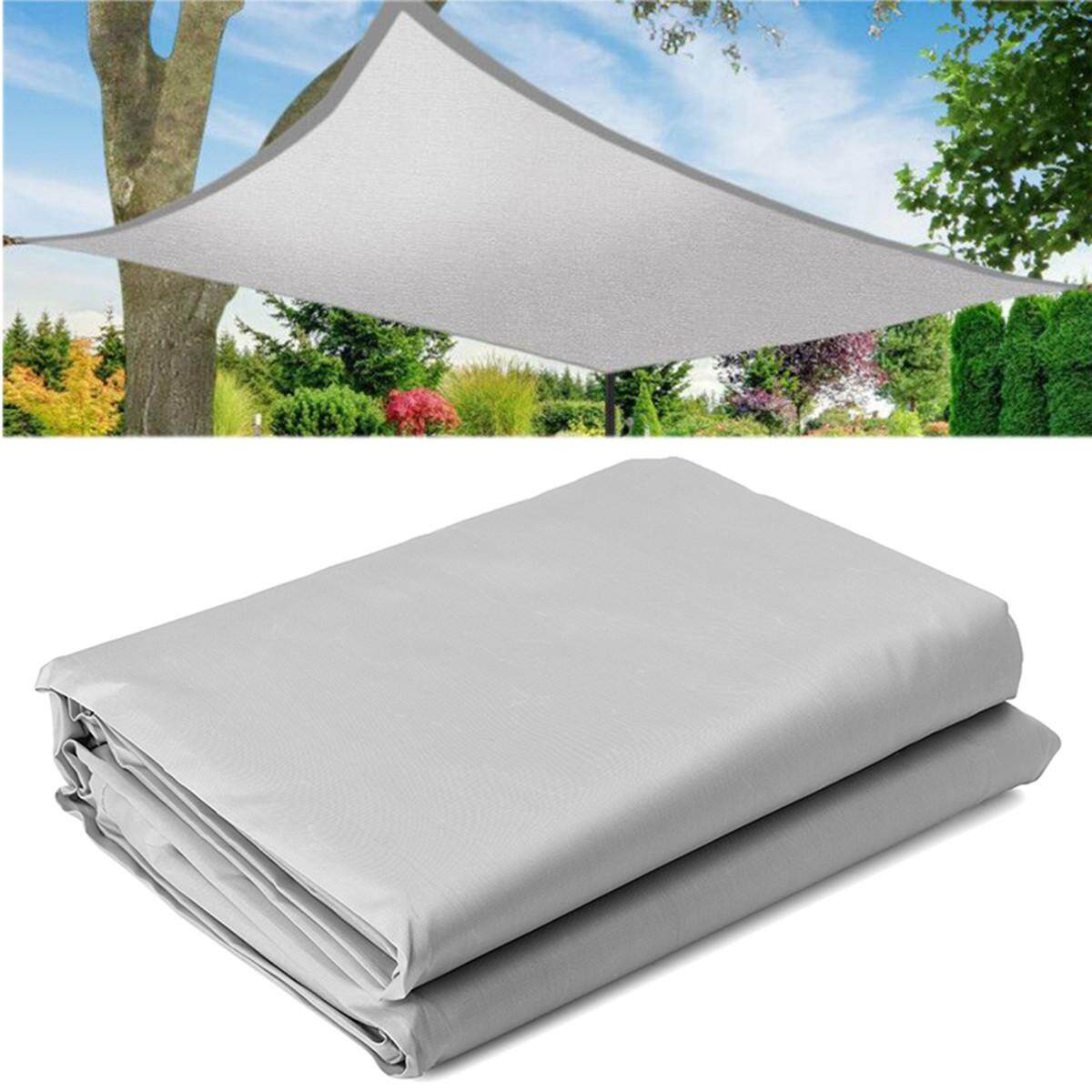 4*8m Rectangle Patio Sun Shade Sail Shelter Outdoor Garden Car Cover Awning Canopy Custom Size