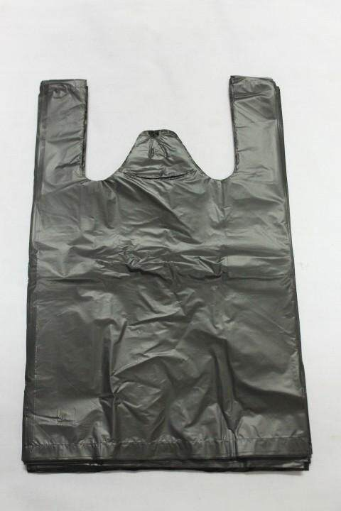 60 pieces Plastic Singlet Beg 15x15 inches. Same Day Ship ! (Black)