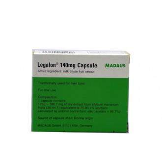 Legalon Milk Thistle 140mg, Liver Detox & Support, 30 capsules