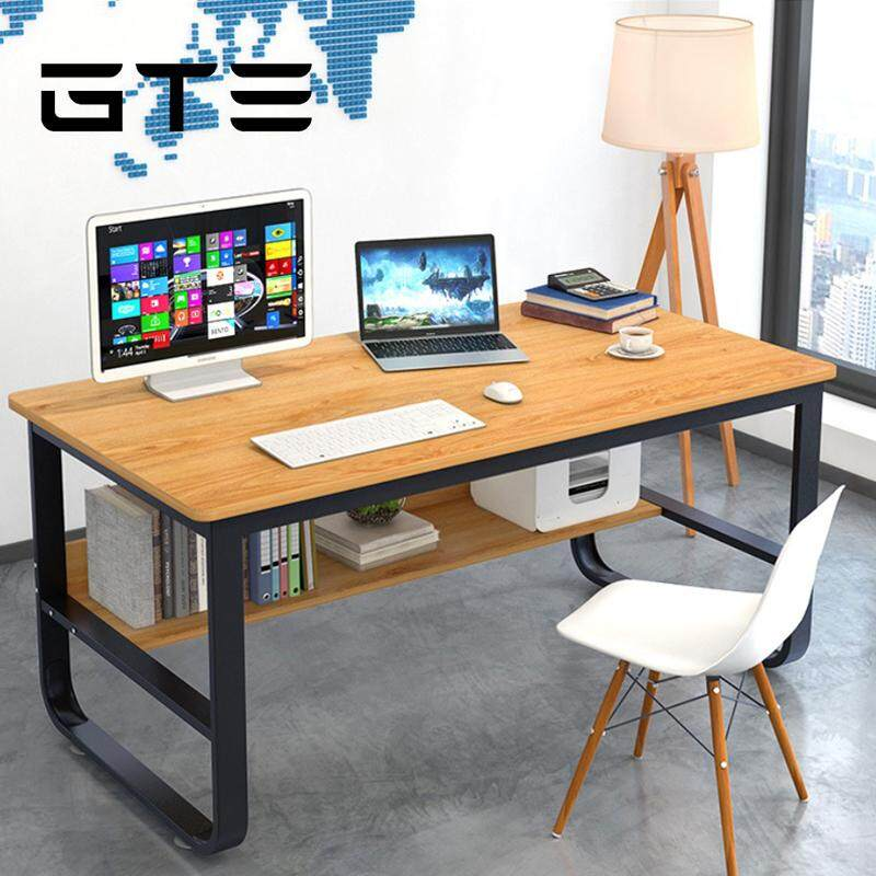 Gte Simple Modern Wooden Computer Desk Study Table Home Office 120cm X 50cm A88 Fulfilled