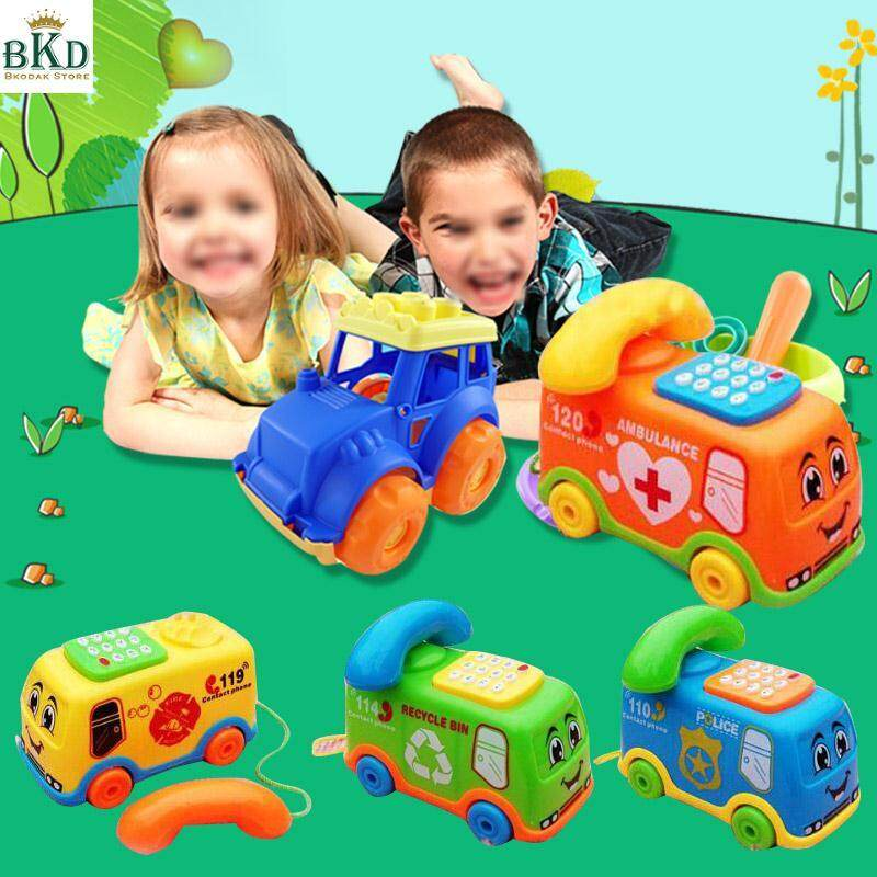 Hình ảnh Bkodak Store Cartoon Phone Birthday Present Baby Toys Music Bus Phone