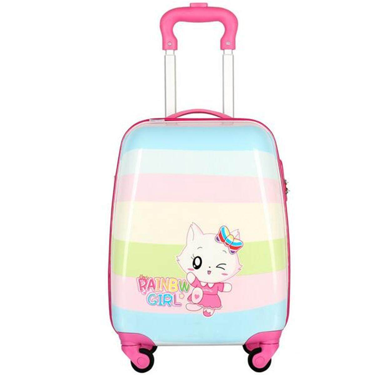 24282d74f China. Kids Children 18'' Luggage Suitcase Cat Travel Cabin Trolley  Aluminium Alloy Rod Luggage Suitcase