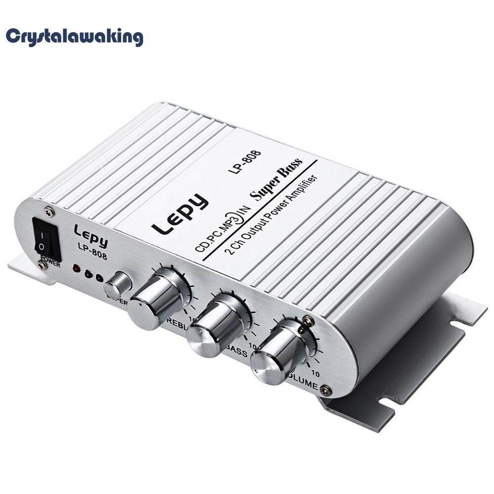 Lepy Lp-808 Digital Car Channel Amplifier Audio Subwoofer Without Power Supply By Crystalawaking.