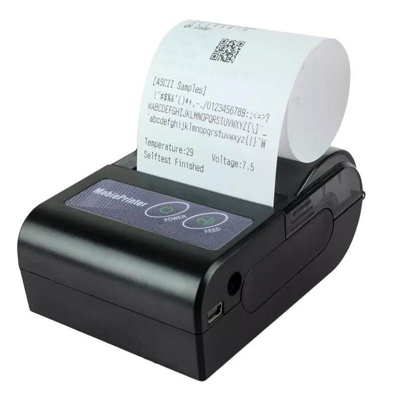 Review Bluetooth Thermal Receipt Printer V4 0 Srs Topup