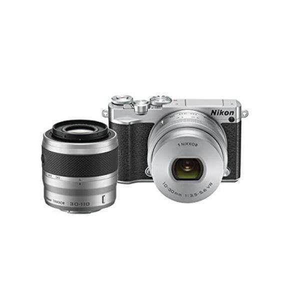 Nikon 1 J5 Mirrorless Digital Camera W/10-30 Mm PD-ZOOM Lensa & 30-110 Mm Lensa (Perak)