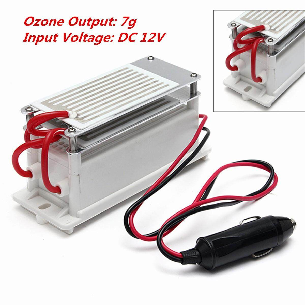 O zone G enerator Ceramic Plate DC 12V 7g Car Home Portable Air Sterilizer Cleaner