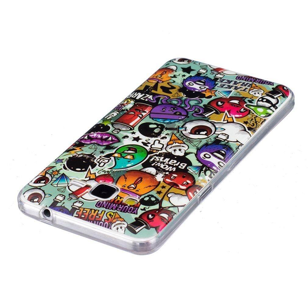 Fitur Luminous Rubbish Silicon Soft Back Phone Case Cover For Softcase 3d Kartun Mungil Lucu Samsung Galaxy J2 Prime Grand G530 Intl