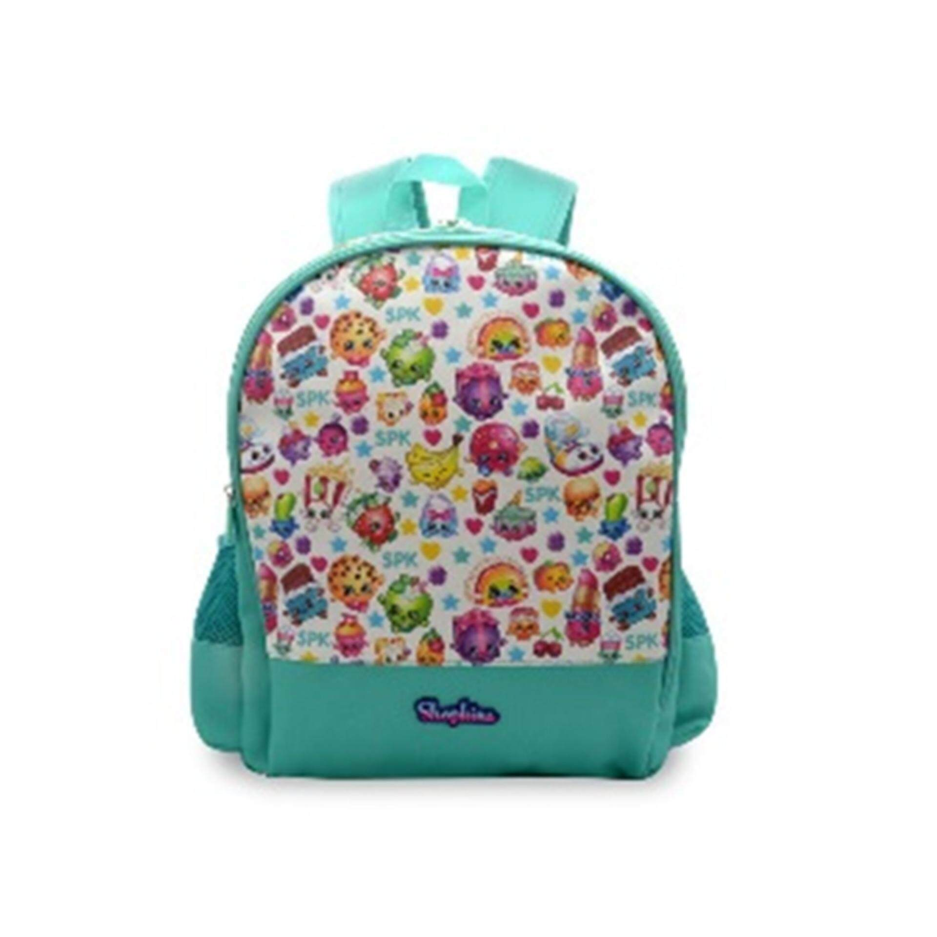 Shopkins Backpack School Bag 16 Inches - Light Blue Colour 0320dbbde6100