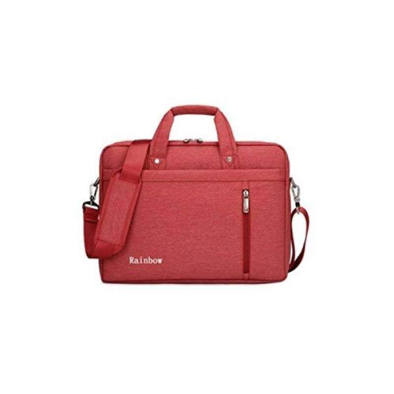Laptop Case,SNOW WI- 12-13.3 Inch Fashion Durable Multi-functional waterproof Laptop Shoulder Bag Briefcase Case for MacBook Air ,MacBook Pro,Acer,Asus,Dell,Lenovo,HP,Samsung,Sony,Toshiba(red) - intl