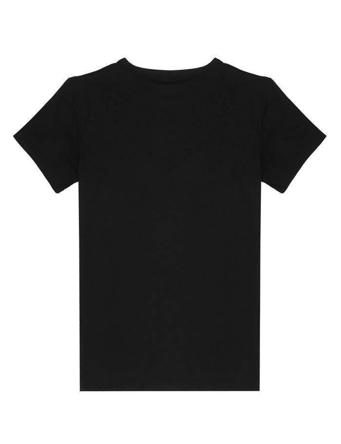 Toprank Wanita Pakaian Santai Bundar Polos Leher Lengan Pendek T-shirt Cinta Suami Saya-Intl
