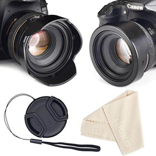 Reversibel Bunga Tulip Tutup Lensa untuk Perkakas Bertualang DSLR + Pusat Pinch Tutup Lensa dengan Topi Tali Penjaga + Premium Lensa Serat Mikro Kain Lap Set (67 Mm) -Intl