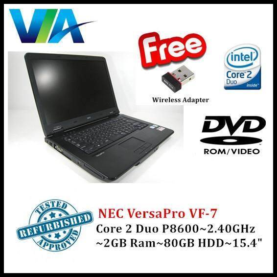 Refurb Nec VersaPro VF-7~C2D~2Gb Ram~80Gb HDD~15.4~Wifi/Nano Malaysia