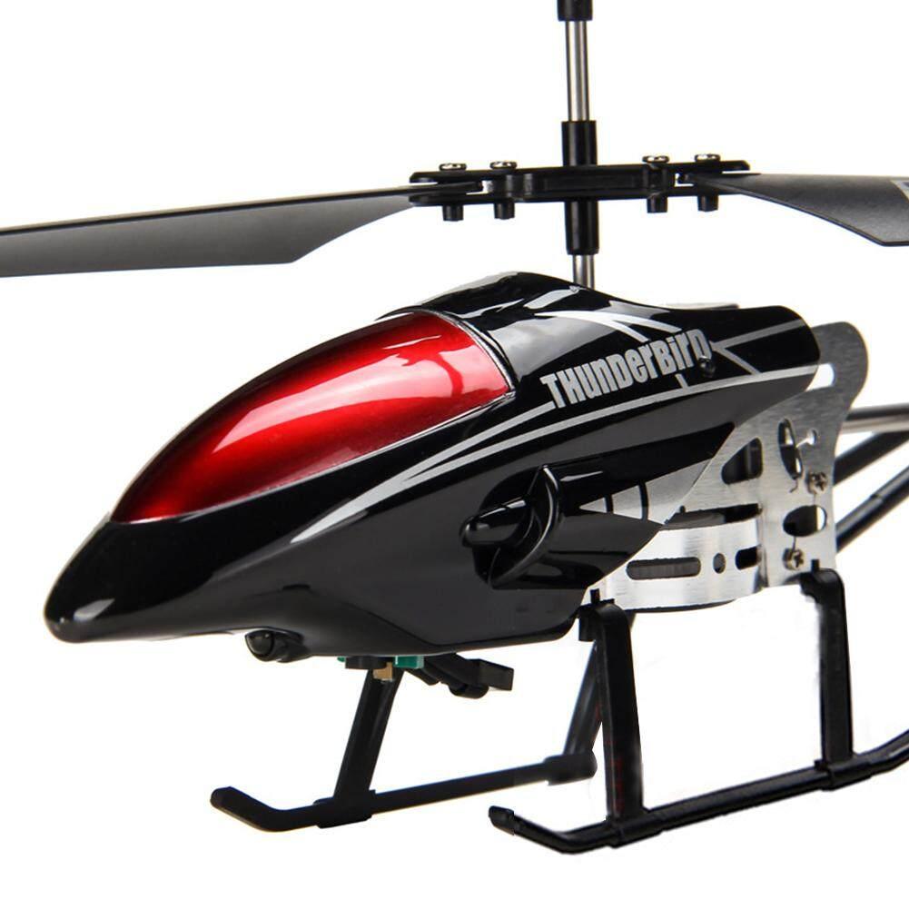 ... Paduan 3.5 Channel Helikopter RC Jatuh Tahan Elektronik Pengisian Mainan Model Pesawat untuk Anak-anak ...