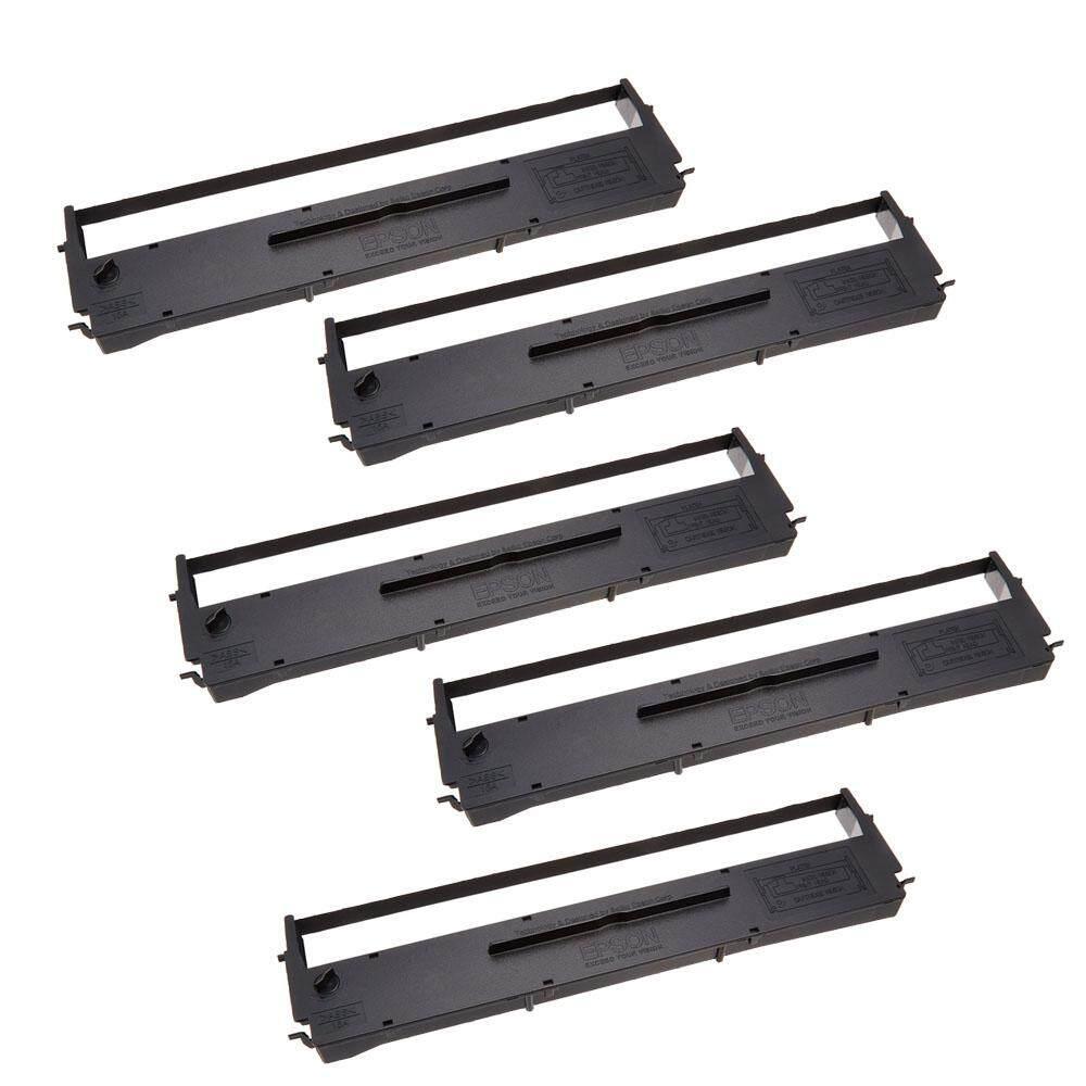 Fitur Genuine Epson Ink Ribbon Cartridge S015639 For Lq 310 Lq310 Compatible 5 Units