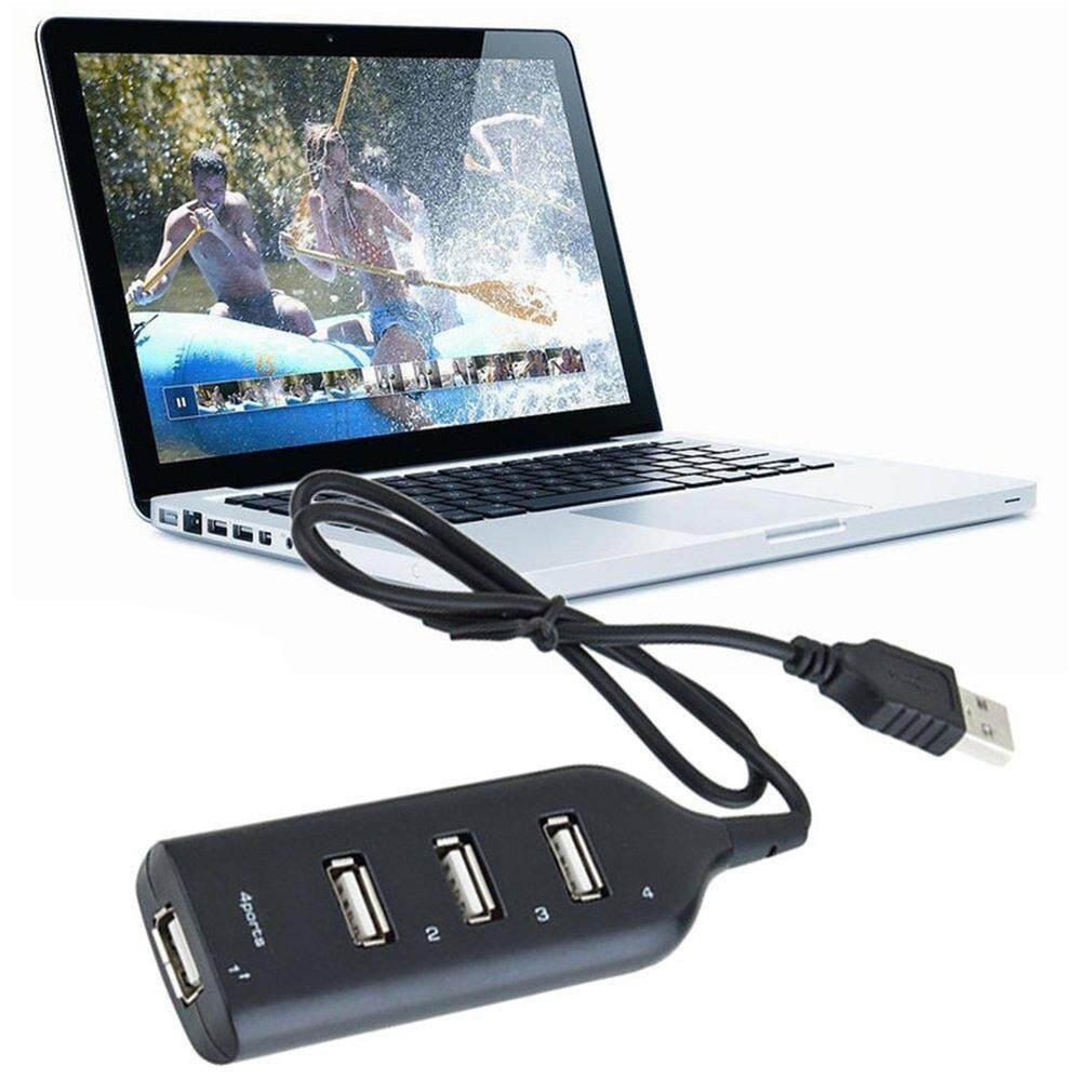 4 Port USB 2.0 High Speed USB HUB Laptop PC Slim Smallest Mini USB Splitter - intl