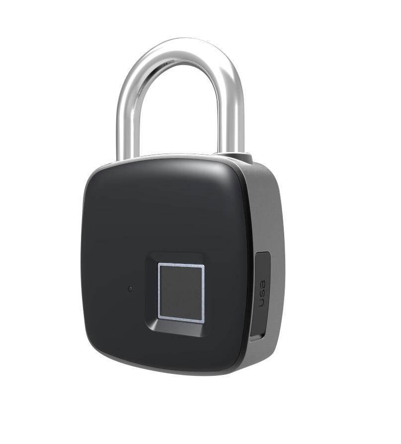 P3 Usb Ip65 Waterproof Smart Fingerprint Padlock
