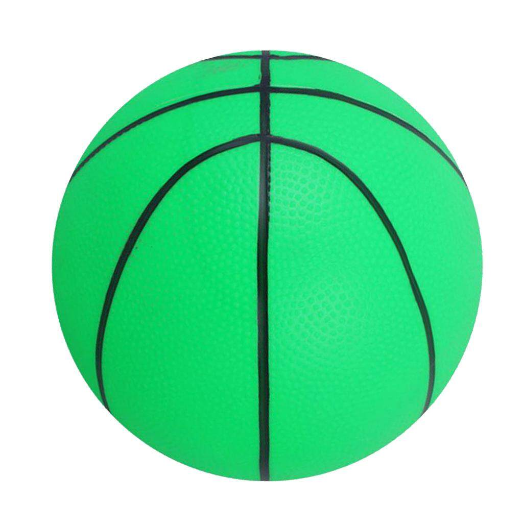 Magideal Mini Bouncy Basketball Indoor/outdoor Sports Ball Kids Toy Gift-Green By Magideal.