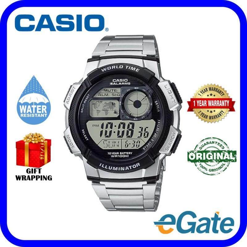 Casio AE-1000WD-1AV Unisex Watch Digital Timepieces Original Malaysia