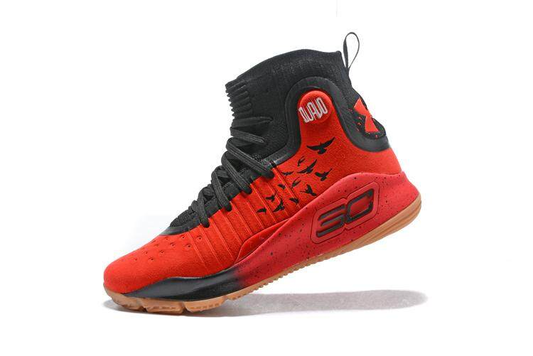 71dba89e48e1 Under Armour Official Curry 4 Mid Top MEN Basketaball Shoe Blue Black  Global Sales