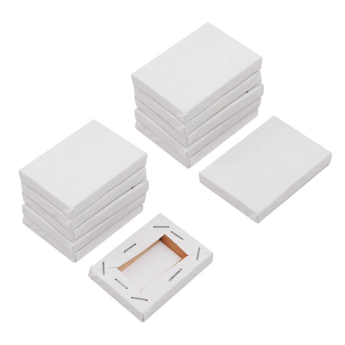 40pcs Mini Stretched Artists Canvas Small Art Board Acrylic Oil Paint 2 X 2.8 By Moonbeam.