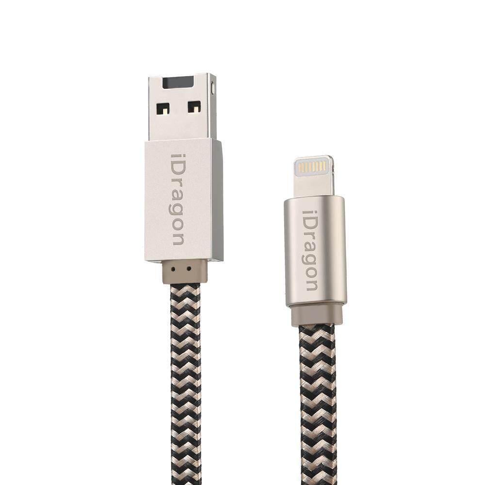 iDragon TF Card Reader Memory Card Reader Card Reader Adapter Charging Cable for iPhone/iPad - intl