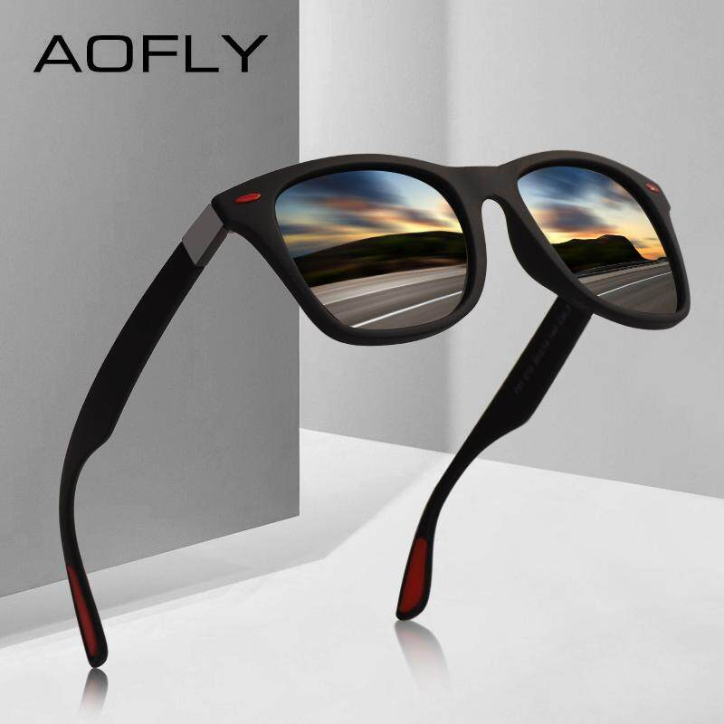 8dd4f7234d1 Wy ting Polarized sunglasses UV400 protection classic style square frame  AF8083