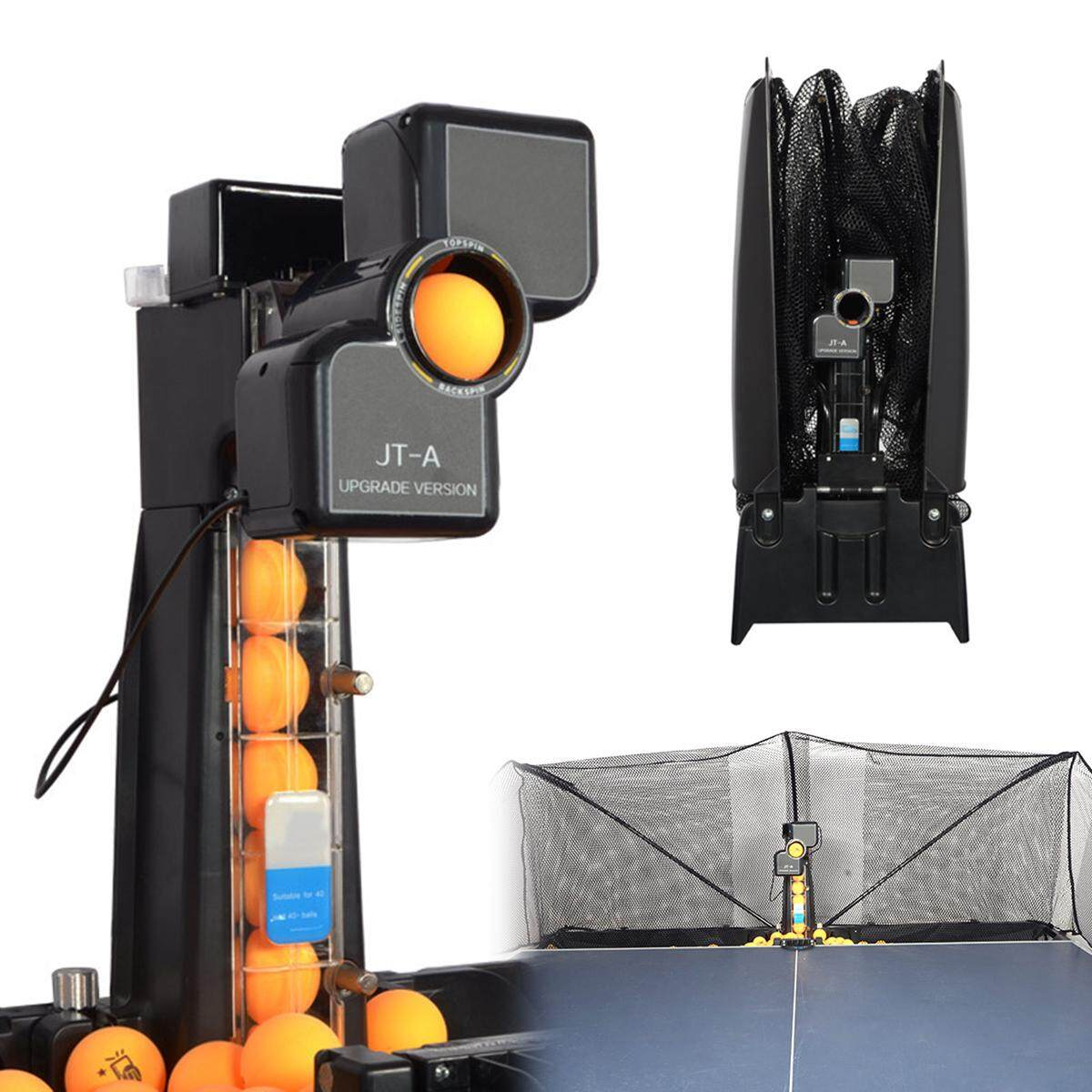 Jt A Table Tennis Robot Automatic Ping Pong Ball Machine Practice Recycle