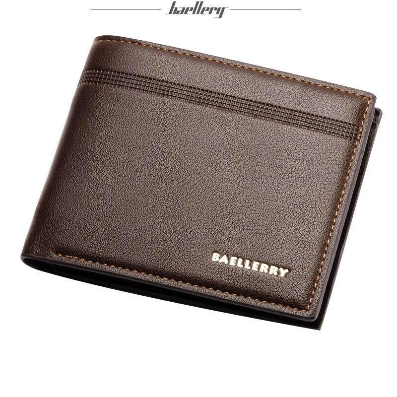 Baellerry WLT-025 men leather wallet billfold coin purse notecase