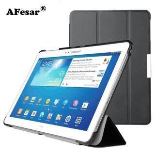 Bìa Cho Samsung Galaxy Tab Pro 10.1 SM-T520 T525 T521 Thông Minh Case-Siêu Mỏng Đứng Bìa Sách Trường Hợp Đối Với SM P600 P601 P605 thumbnail