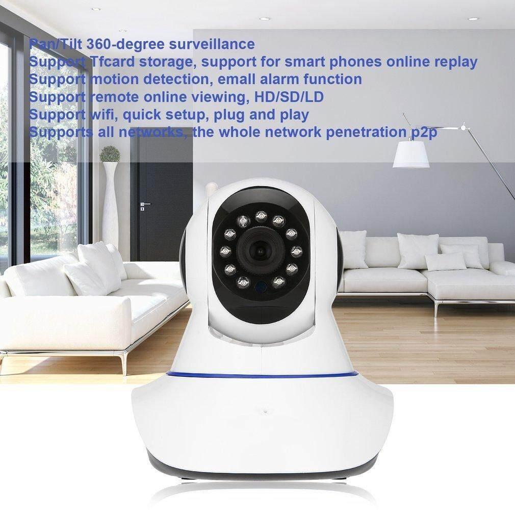 Kamera Alarm Nirkabel 720 P HD Ip Kamera Jaringan Keamanan/Monitor Hewan Peliharaan Cam