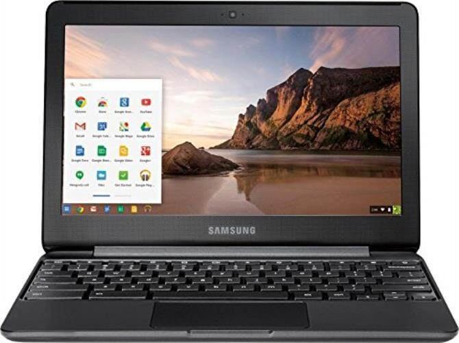 2017 Flagship Samsung 11.6 HD LED Backlight Chromebook, Intel Celeron Dual-Core N3060 up to 2.48GHz, 4GB RAM, 32GB HDD, Intel HD Graphics, HDMI, Bluetooth, HD webcam, 11 Hours Battery Life, Chrome OS