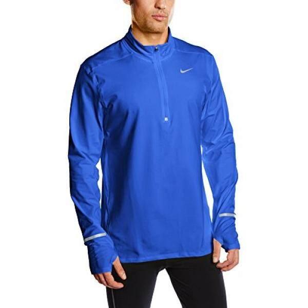 9d2d43ba NIke Mens Dri-FIT Element Half-Zip Running Shirt (Medium) - intl