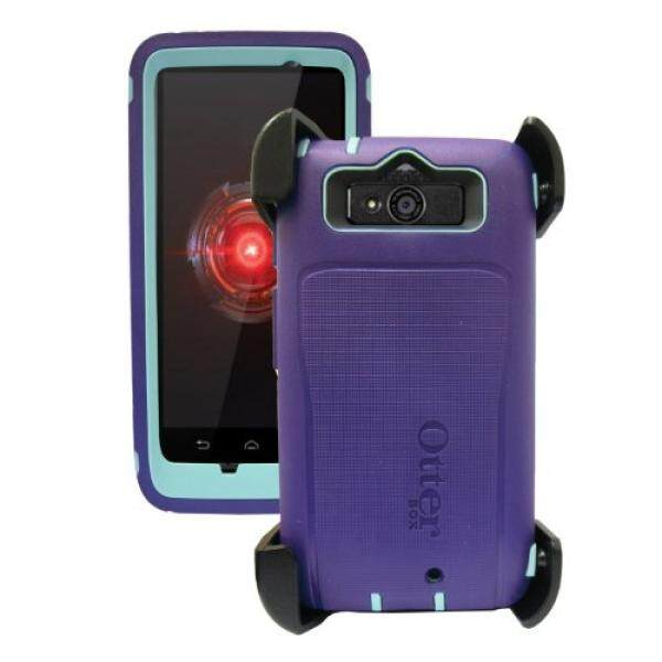 Sarung Telepn Seluler Motorola Droid Mini OtterBox Defender-Ungu-Intl