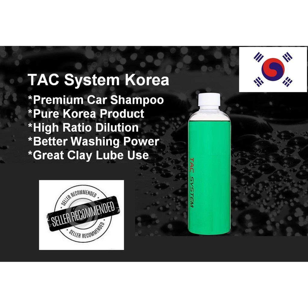 TAC System Korea Concentrate AutoWash Premium Car wash PH Neutral Balance Coating wash maintenance