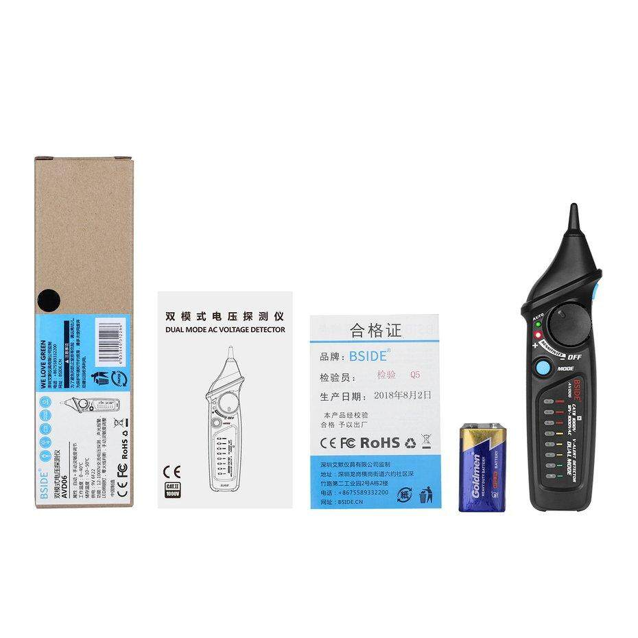 Electrical Testers Test Leads Buy Dc 6v 12v Circuit Tester Car Light Voltage Continuity Long Probe Top Bside Avd06 Non Contact Detector Meter Ncv Live Wire Check