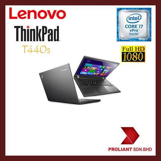 LENOVO THINKPAD T440s ULTRABOOK (CORE I7 VPRO) FHD [GRADE A REFURBISHED] Malaysia