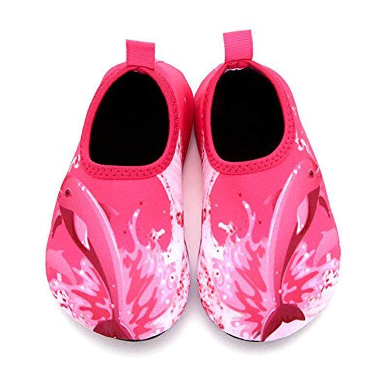 59eb0eaf06cc Wxdz Boys Girls Water Shoes Swim Shoes Quick Drying Barefoot Aqua Socks For  Kids Beach Pool. Professional Children Sports Beach Shoes.