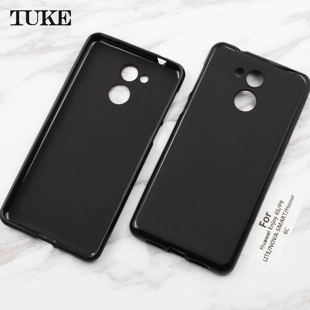 Tuke Case untuk Huawei Nikmati 6 S P9 Lite Lembut Silikon TPU Sarung untuk Huawei Honor 6C Nova Pintar Anti Guncangan pelindung Telepon-Internasional