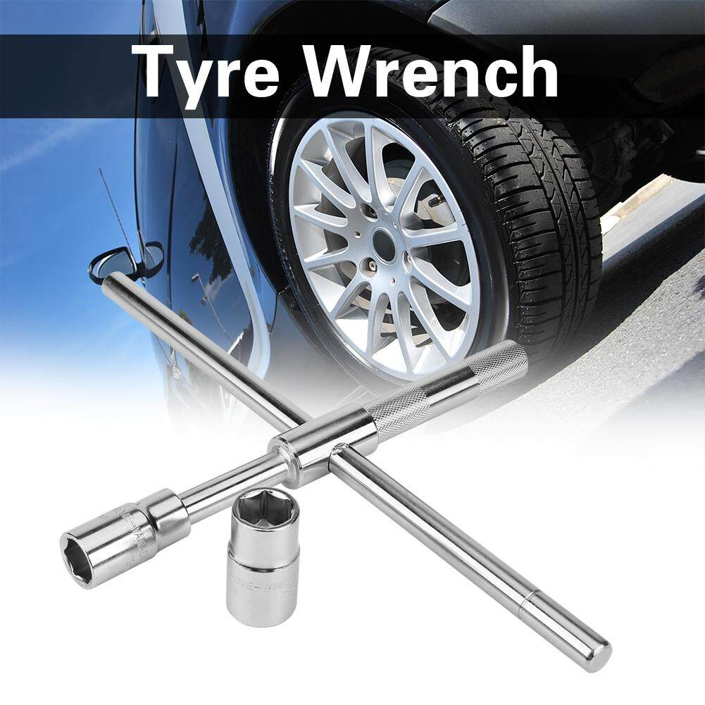 Car Tyre Wrench Cross Labor Saving Remove Tire Spanner Sleeve Repair Tool
