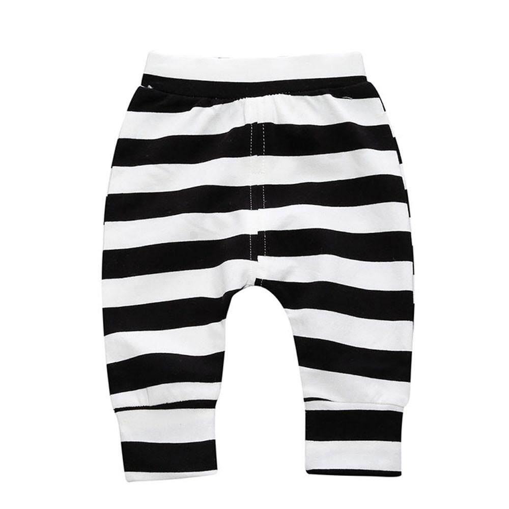 30fb0758602 Tideshop Toddler Children Trousers Baby Girls Boys Stripe Pencil Pants Warm  Leggings