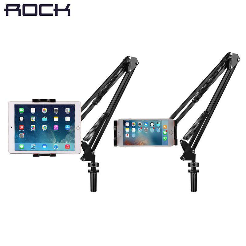 Universal Cell Phone Holder, Rock Mobile Phone Stand, Tablet Pad Lazy Bracket Flexible Long