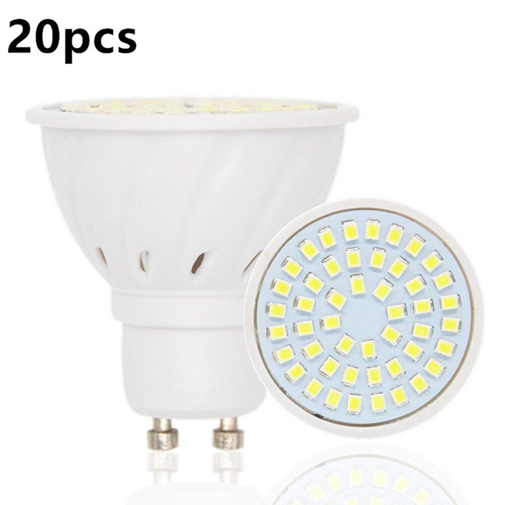 20Pcs/Lot GU10 60-SMD 2835 Warm White LED Light Bulbs